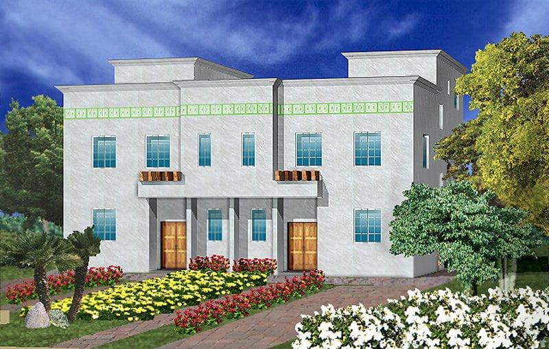 بيوت الموجة الجديدة في التطوير العمراني